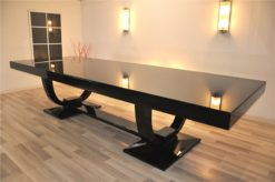wonderful furniture, unique feet, lacobelglas topplate, handpolished