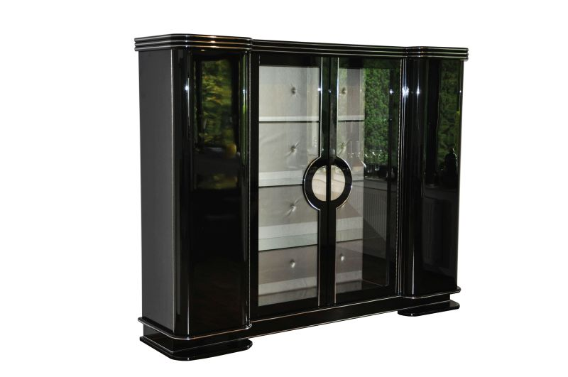 1920s art deco armoire cabinet from paris original antique furniture. Black Bedroom Furniture Sets. Home Design Ideas