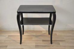Art Deco Sidetable, wonderful furniture, chromebars, handpolished, filigree