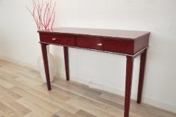 wonderful paintjob, pointed feet, 2 big drawers, chrome fittings, handpolished