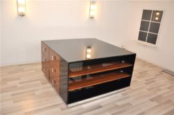 Cube Designer Sideboard XL, from a London Hotel, Rosewood, wonderful furniture