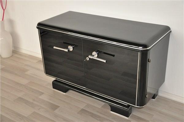 petite french art deco commode original antique furniture. Black Bedroom Furniture Sets. Home Design Ideas