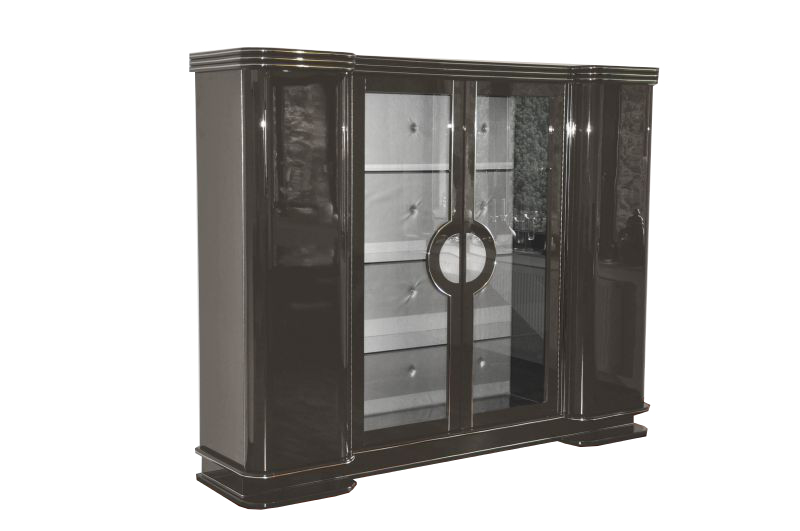 Formed Swing Doors, Classic French Design, Doors With Glass Inset ,  Adjustable Shelves,