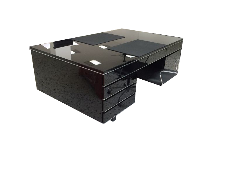 Bauhaus Style Partner Desk Extra Large Original Antique