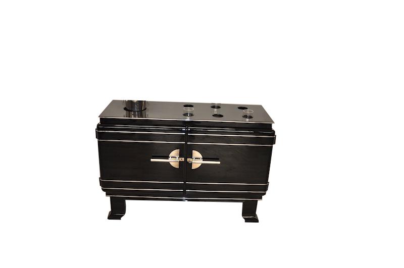 art deco whiskey bar cabinet original antique furniture. Black Bedroom Furniture Sets. Home Design Ideas