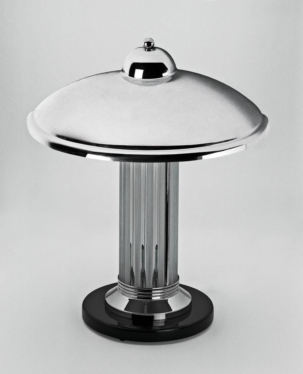small art deco table lamp limoges original antique furniture. Black Bedroom Furniture Sets. Home Design Ideas
