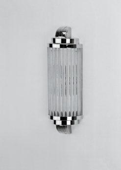 wonderful wallamp Montpellier in Art Deco Style, elegant glasbars, luxurious eyecatcher