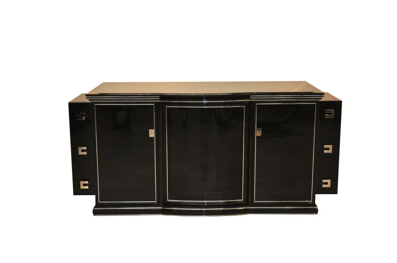 Art Deco Sideboard New York 1935 Highgloss Black Great Interior