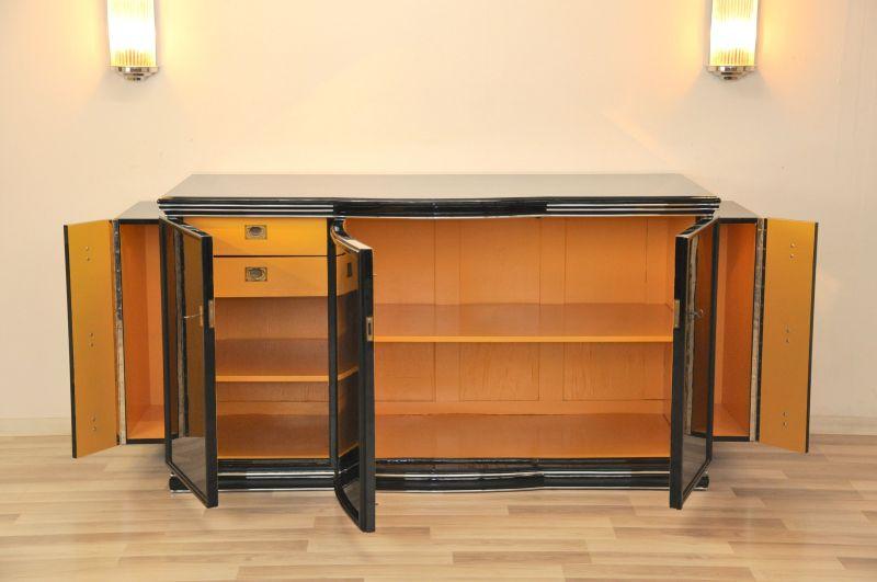 deco sideboard new york yellow original antique furniture