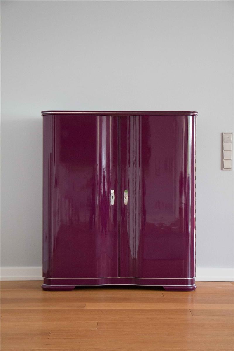 Unusual Art Deco Bar Cabinet Lavie Original Antique