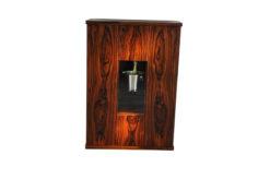 Art Deco Bar Cabinet, Rosewood, wonderful furnier, plenty of storage, luxurious design, absolute eyecatcher