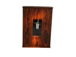 Art Deco Bar Cabinet, Rosewood, wonderful furnier, plenty of storage, luxurious design, absolute eyecatcher