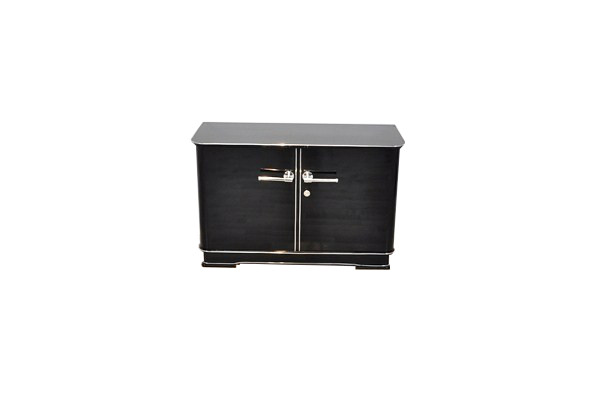 elegant and petite art deco commode original antique furniture. Black Bedroom Furniture Sets. Home Design Ideas