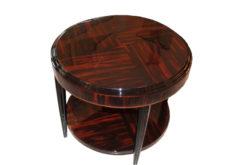 Art Deco, antique, original, rare, table, sidetable, highgloss, macassar, unique, hoigh quality, elegant, living room furniture, restored, french