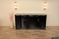 Art Deco, Sideboard, Design, Era, 1920s, Buffet, Lowboard, highgloss, pianolacquer, high quality, living room, restored, original