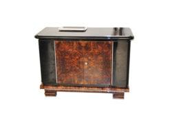 Art Deco, Era, Commode, Sideboard, Storage, Burlwood, Polished, Wood, Furniture, Design, Highgloss, Beautiful, Living Room, Antique