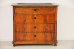 Bidermeier, commode, cherry wood, storage, four drawers, chest of drawers, original, antique, design, fine crafted details, color