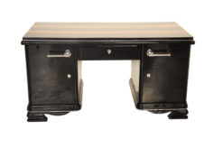 Art Deco, Desk, indian, aplle wood, plain, simple, design, highgloss, applications, polished, restored, office, furniture