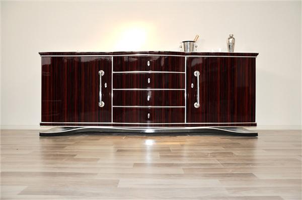 art deco design xxl sideboard original antique furniture. Black Bedroom Furniture Sets. Home Design Ideas