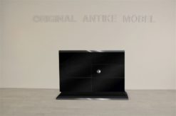 Art Deco, Commode, chest of drawers, design, style, furniture, storage, drawers, black, finish, high gloss, made in germany, furniture