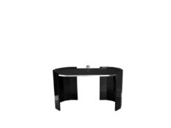 Art Deco, furniture, design, style, margarethe schreinemakers, furniture, desk, table, high gloss, black edition, hand polished, made in germany