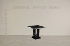 Art Deco, furniture, design, style, margarethe schreinemakers, side table, living room, black, piano lacquer, quality, wood