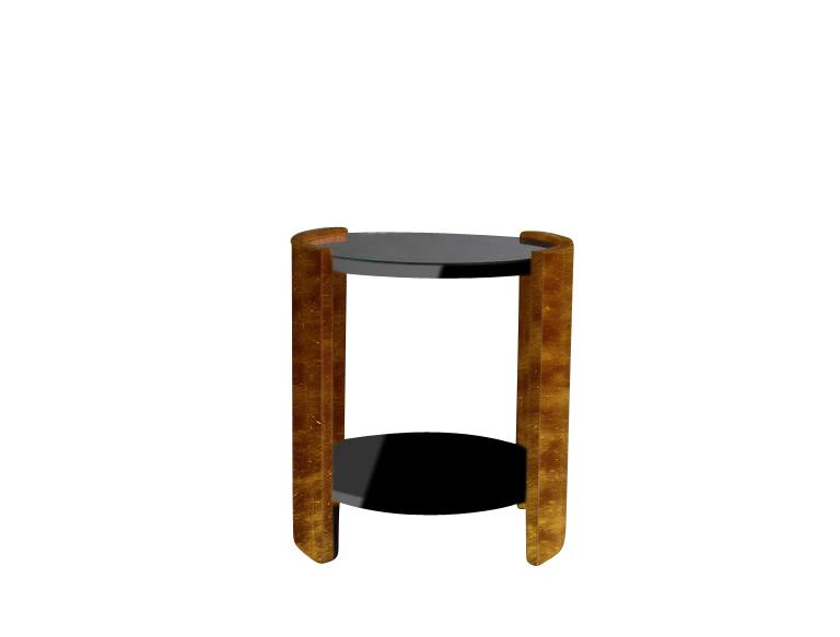 Art Deco, Table, Side Table, Livingroom, Furniture, Design, Gold,