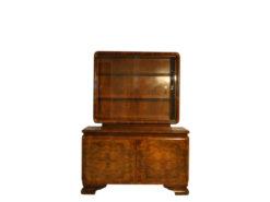 Commode, furniture, living room, France, Art Deco, Walnut wood, veneer, furniture, brown, design, luxury, cabinets, unrestored
