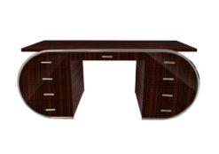 Desk, furniture, living room, France, Art Deco style, Art Deco, Macassar, veneer, furniture, brown, design, luxury, solid, classic