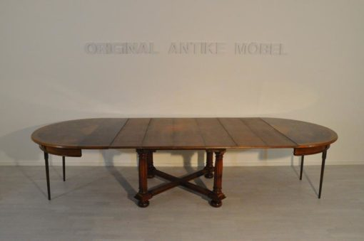 Art Deco, table, extendable, walnut wood, 1920s, unrestored, antique, hand-crafted, original, beautiful veneer, livingroom,