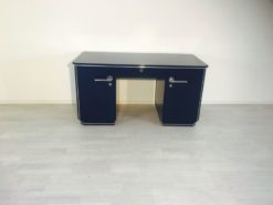 azure, high gloss, sideboard, art deco, great foot, living room, chrome handles, lacquer, luxury, veneer, chrome lines, piano lacquer