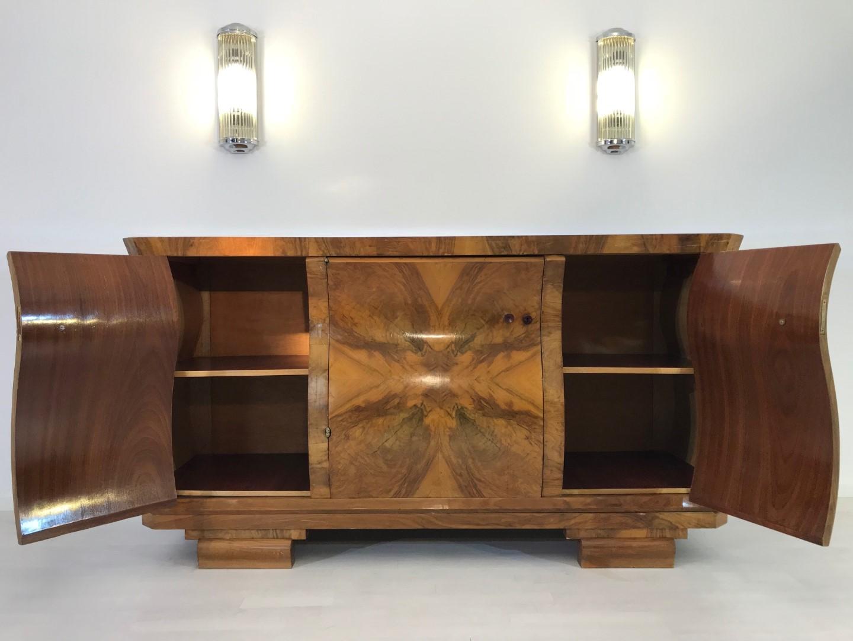 Art Deco, Furniture, Design, Interiordesign, Walnut, Burl, French, 1920s