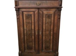 walnut, walnut, wood, dresser, brown, antique, unrestored, living room, elegant, design, veneer, pattern, luxury, interior space