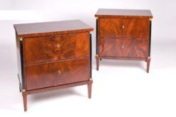 commode, walnut, brass, biedermeier, brown, ornamentations, restored, living room, curved, nice feet, veneer, big, antique