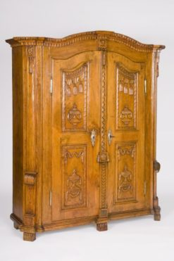 cabinet, lake constance, veneer, walnut wood, walnut, swabian, three-parted, luxury, design, restored, concave, curved, living room