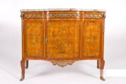 commode, rosewood, mahogany, transition style, historism, oak, ornamentations, restored, living room, curved, nice feet, veneer