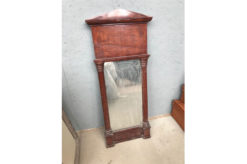 frame, unrestored, black, mirror, veneer, antique, living, elegant, pattern, luxury, small, stable, pattern, wood, roof,