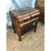 Unrestored_Walnut_Wood_Side_Table_1