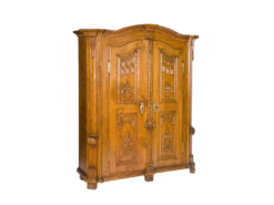 cabinet, lake constance, veneer, walnut wood, walnut, swabian, three-parted, luxury, design, restored, concave, curved, living room