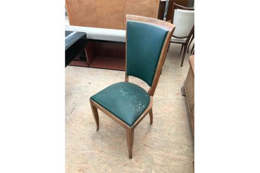 chair, unrestored, brown, great foot, veneer, antique, living, elegant, pattern, luxury, large, stable, pattern, Art Deco