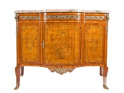 commode, rosewood, mahogany, transition style, historism, oak, ornamentations, restored, living room, curved, nice feet, veneer