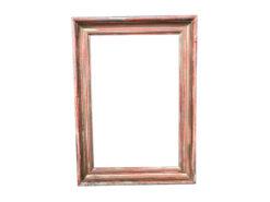 frame, unrestored, brown, picture frame, veneer, antique, living, elegant, pattern, luxury, small, stable, pattern, wood