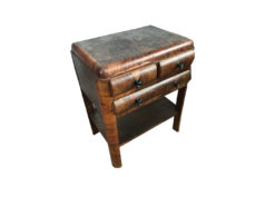 side table, unrestored, brown, great foot, veneer, antique, living, elegant, pattern, luxury, large, stable, pattern, walnut