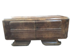 sideboard, unrestored, brown, great foot, veneer, antique, living, elegant, pattern, luxury, large, stable, pattern, walnut