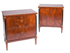 commode, walnut, brass, biedermeier, brown, ornamentations, restored, living room, curved, nice feet, veneer, big, antique