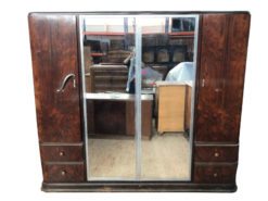 cupboard, unrestored, brown, great foot, veneer, antique, living room, elegant, wardrobe, luxury, large, stable, pattern, walnut