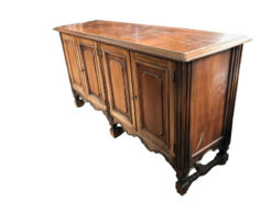 sideboard, unrestored, brown, great foot, veneer, antique, living room, elegant, luxury, large, stable, pattern, glass, old