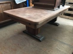 dining table, unrestored, brown, great foot, veneer, antique, living room, elegant, pattern, luxury, large, stable, pattern, table