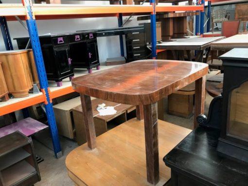 table, unrestored, brown, great foot, veneer, antique, living, elegant, pattern, luxury, wide, stable, pattern, small, polished