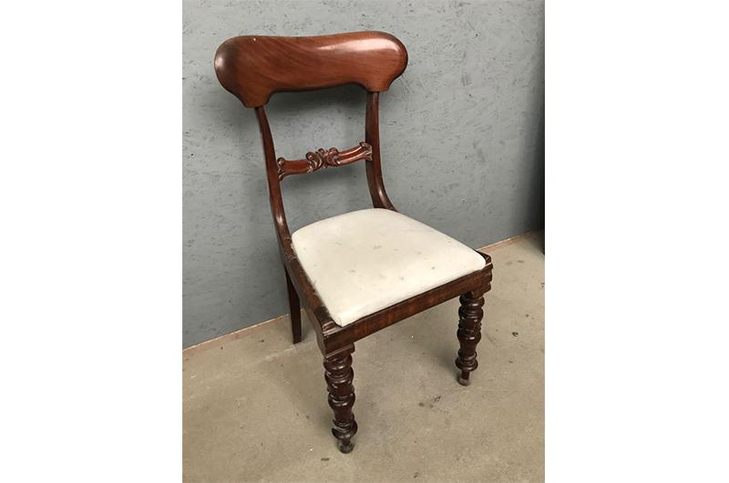 Miraculous Unrestored Chair With White Upholstery Original Antique Andrewgaddart Wooden Chair Designs For Living Room Andrewgaddartcom